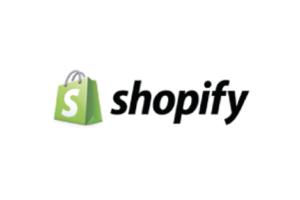 Shopify logga