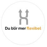 Du blir mer flexibel dekal